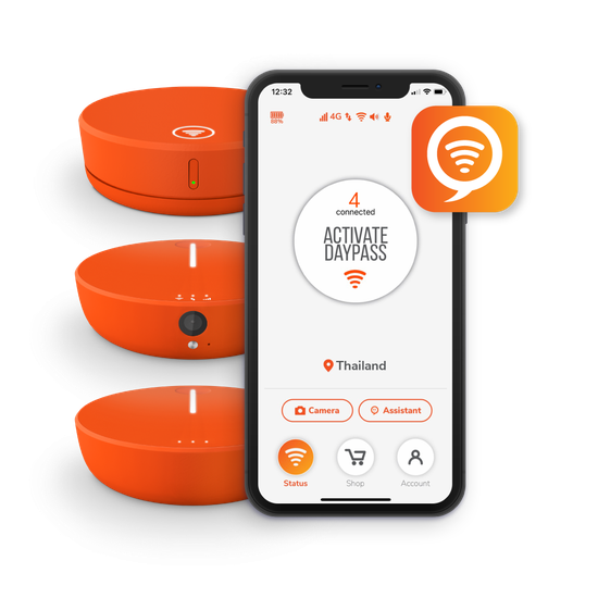 Skyroam Mobile App Image