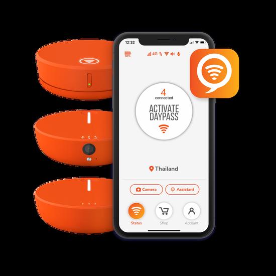 Skyroam Mobile App Image